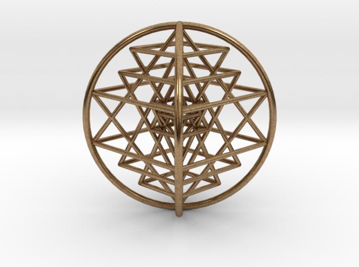 "3D Sri Yantra 4 Sided Optimal 3"" 3d printed"