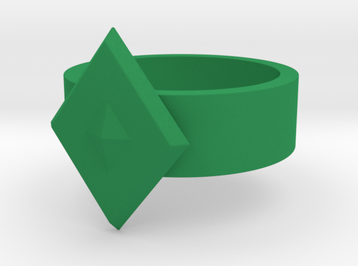 Guardian Ring 1976 GL (Sz 12 shown) 3d printed
