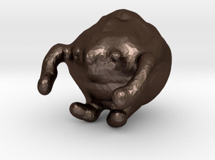 wally wallnut 3d printed