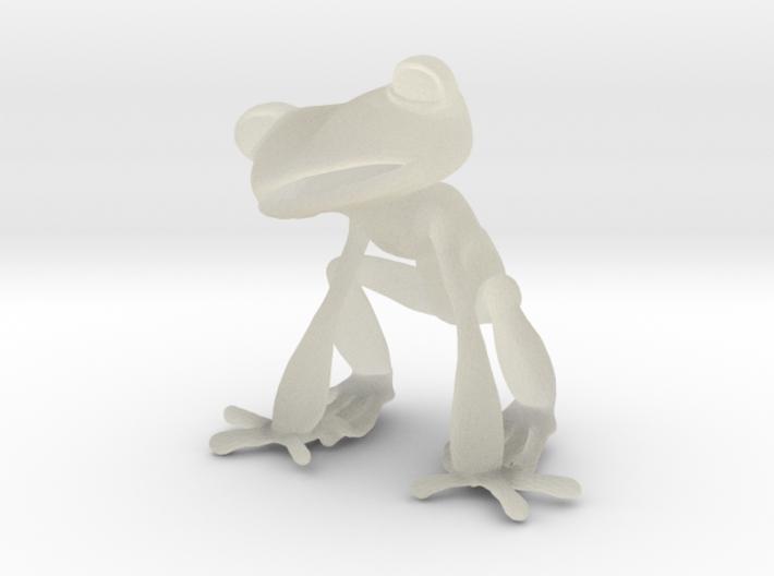 Frog 3d printed