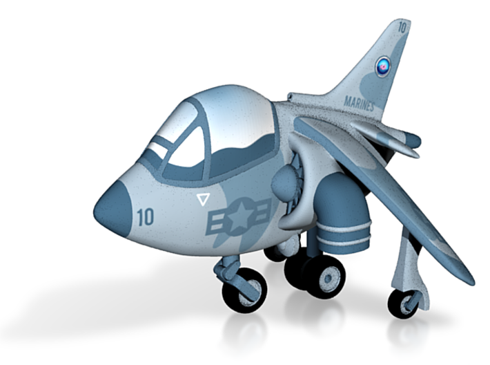 Harrier Coloured 3d printed