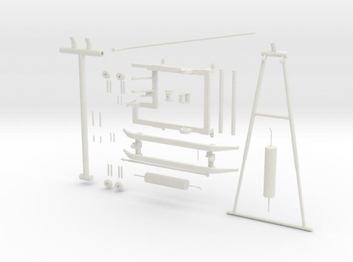 Pantograph PIECES 3d printed