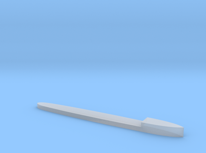 Tatra class destroyer hull 3d printed