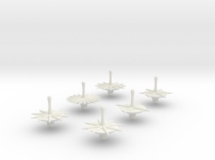 Full Set Bonetop Dice 3d printed
