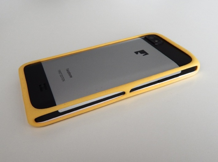 Bumper Protective Case for the Fairphone 3d printed