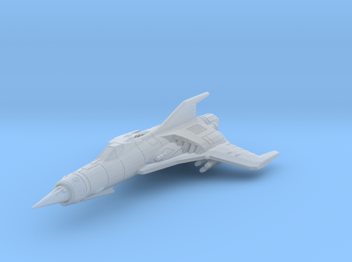 EDSF Cosmo Raven Class Interceptor 3d printed