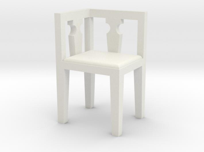 1:48 Corner Chair 3d printed