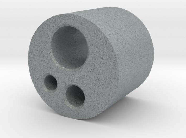 3 Hole Borden Connector 3d printed
