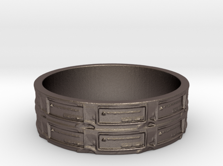 Qbit Ring Size 7 3d printed