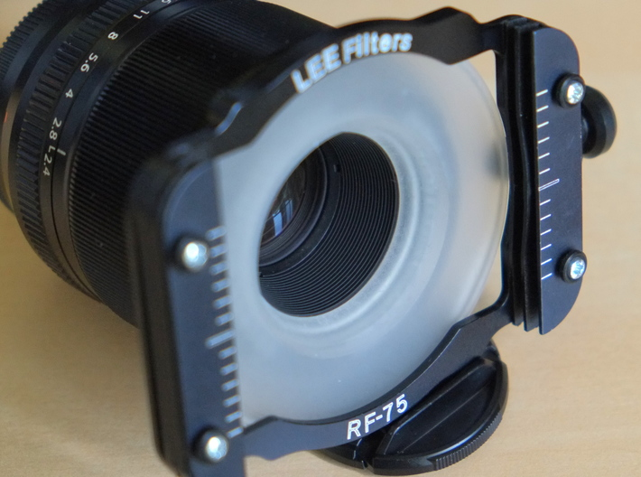 Filter Adapter for Fujinon 60mm lens 3d printed Lens with filter holder and adapter