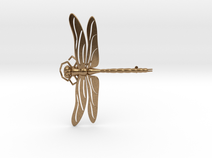 Dragonfly Brooch/Pendant 3d printed
