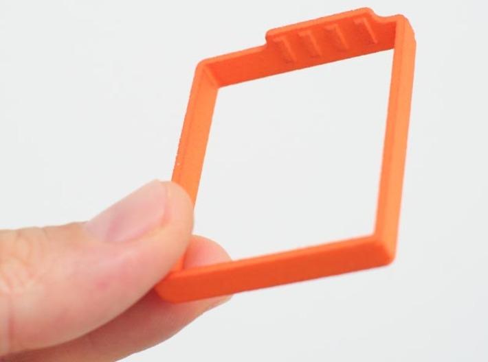 Clip cap 3d printed