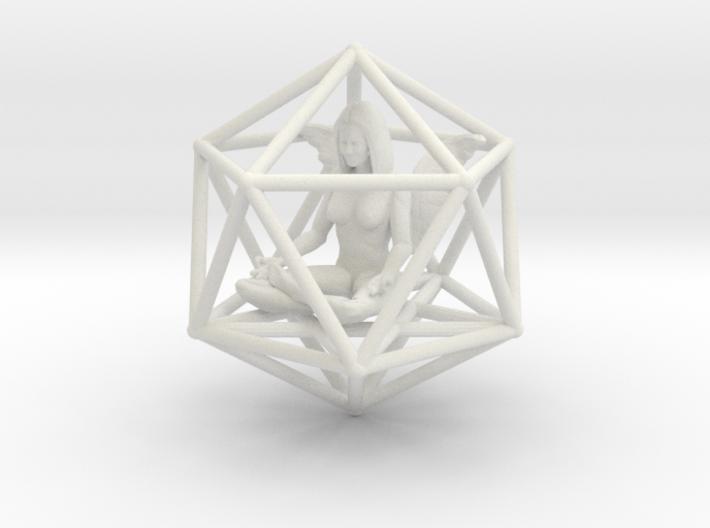 Angel Icosahedron Merkabah 50mm 3d printed