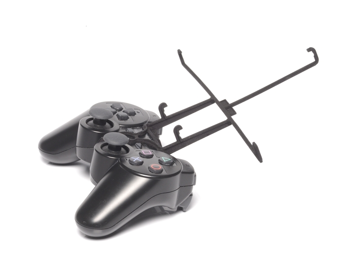 PS3 controller & Prestigio MultiPad 7.0 HD + 3d printed Without phone - Black PS3 controller with Black UtorCase