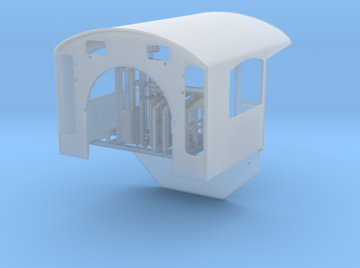 Southern Ry Cab for Spectrum 2-8-0 - HO scale 3d printed