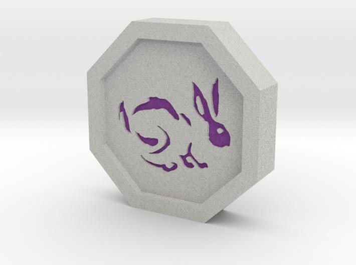 Rabbit Talisman 3d printed