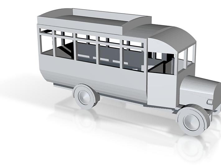 Thornycroft Bus 3d printed