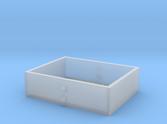 N Scale Con Cor PA Fuel Tank 1:160 3d printed