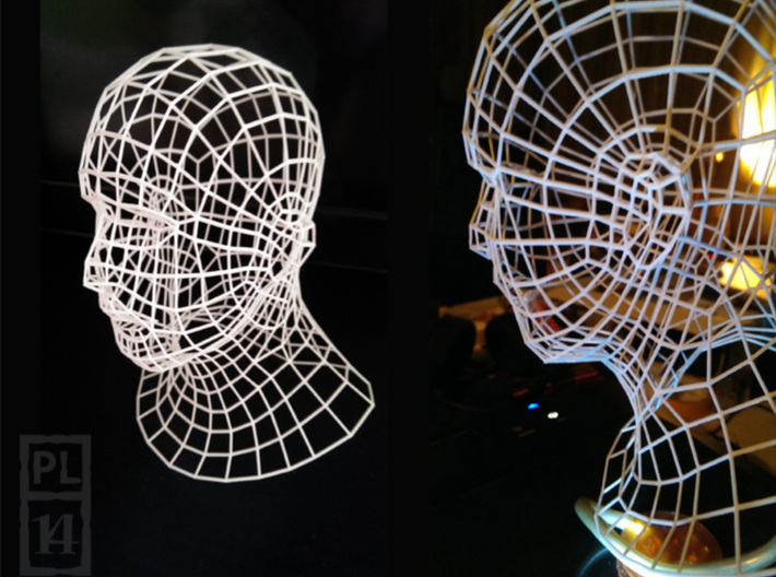 Wirehead 200mm 3d printed