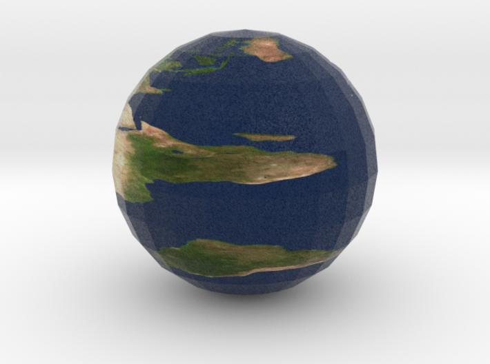 micro Earth 3d printed