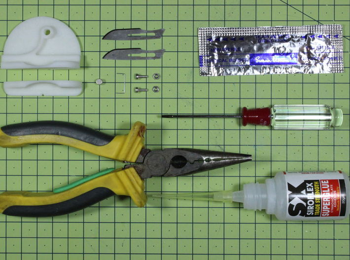 Card Joint Tool - V6 - Part 2/2 3d printed