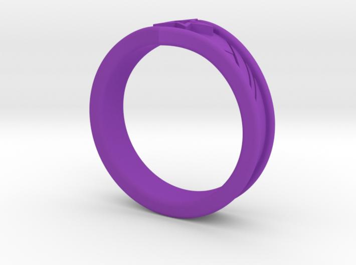 WW Tiara Ring Sz 8 3d printed