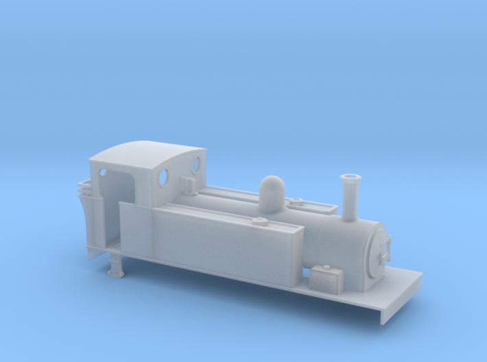 OOn3 T&D Kerr stuart 2-6-0T 3d printed