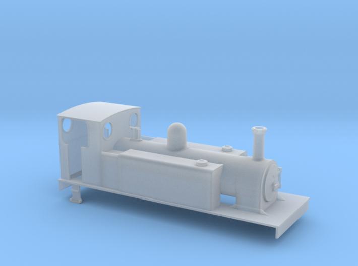OOn3 CDJR class 2 4-6-0T 3d printed
