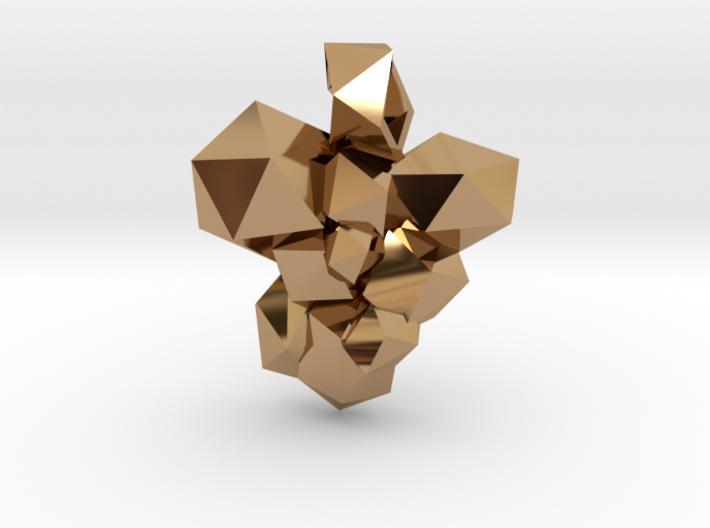 Shard Pendant 3d printed