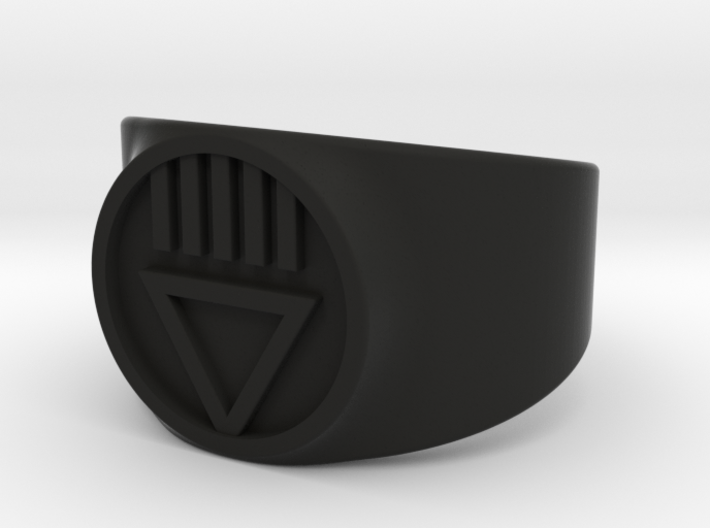 Black Death GL Ver 2 Ring Sz 10 3d printed