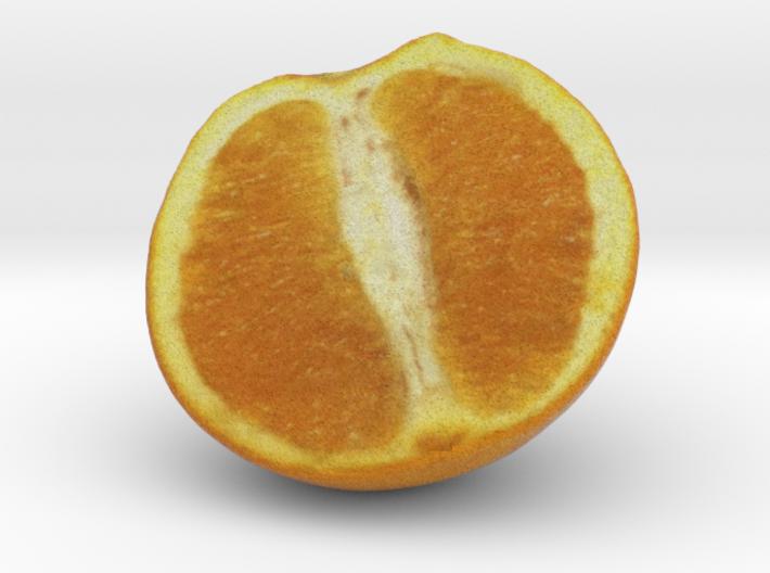 The Orange-2-Half 3d printed