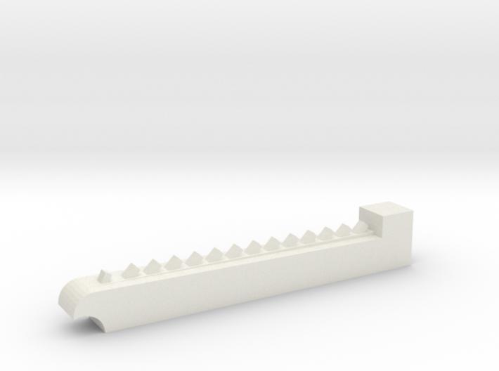Chainsaw blade - rough 3d printed