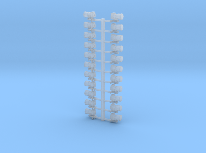 Westinghouse Distributer 4mm (x20) 3d printed