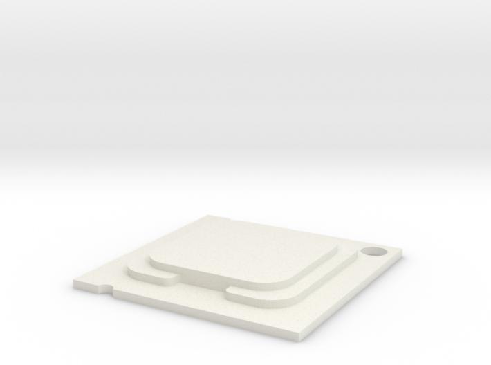 CPU Pendent 3d printed