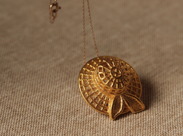 """""""Summer time"""" pendant 3d printed"""