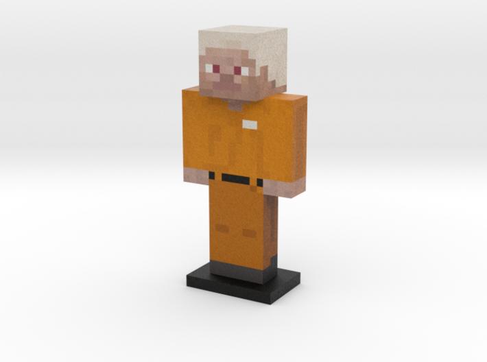 Prisoner Steve 3d printed