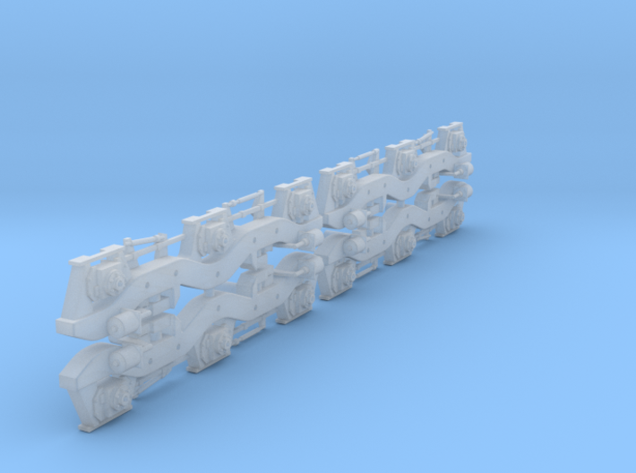 HO Scale Conrail Flexicoil Sideframes for Athearn 3d printed