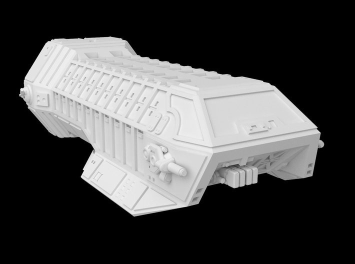 Gamma Assault Shuttle 1/270 3d printed
