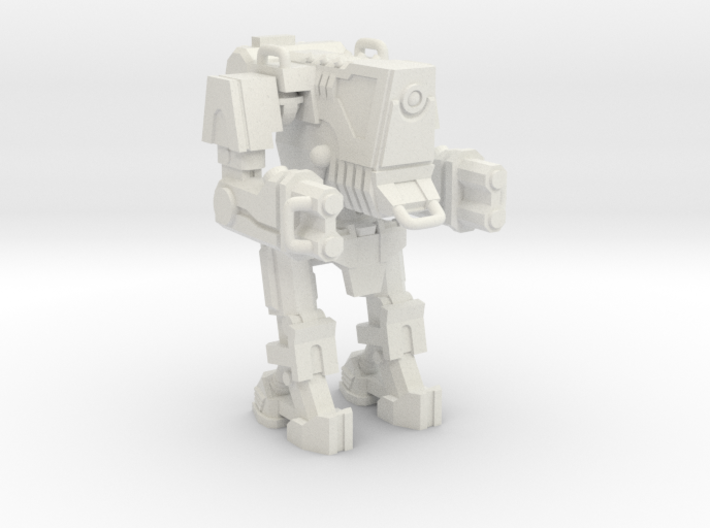 1/87 Scale Wofenstain Big Boss Robot 3d printed