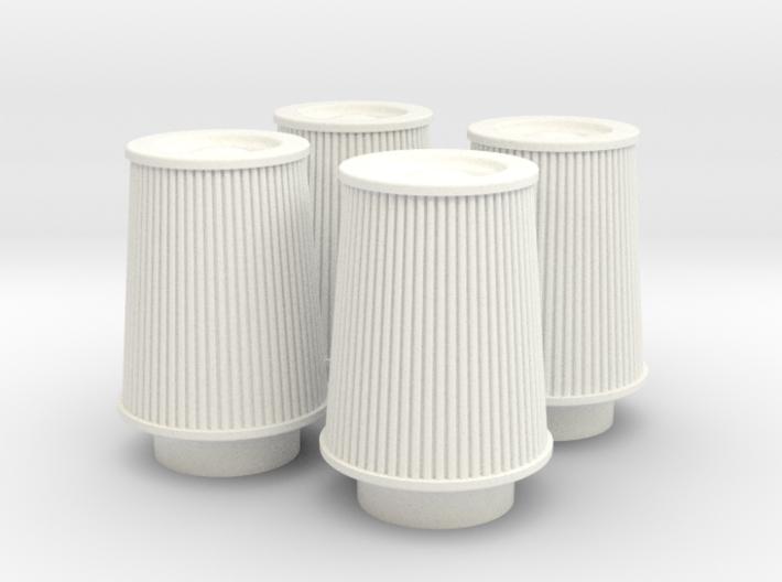 1/8 K&N Cone Style Air Filters TDR 4630 3d printed