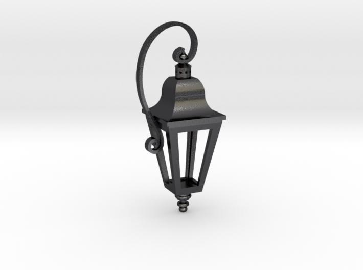 English Street Lamp Pendant 3d printed