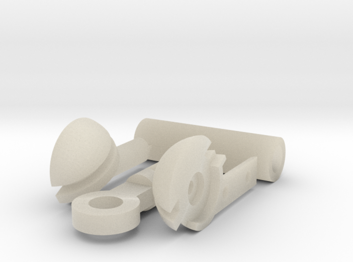 MDD Shoulder Joint Replacement 3d printed