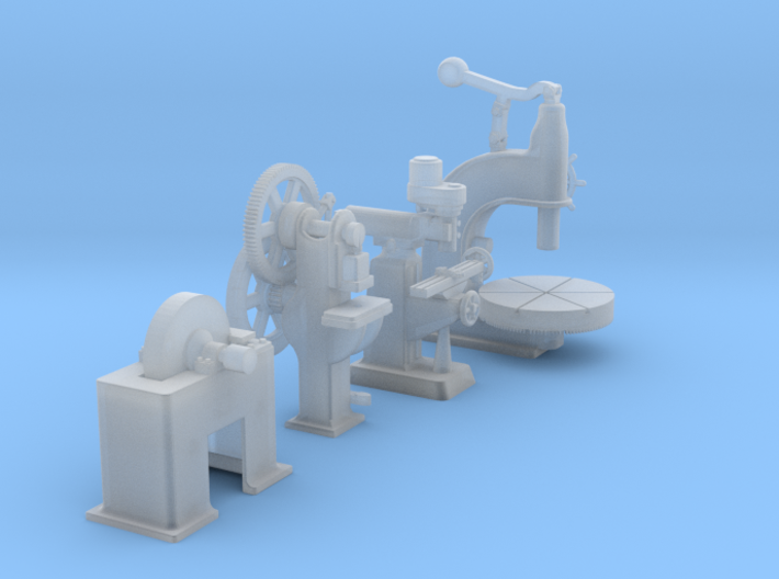 Large Industrial Machines 2 HO Scale 3d printed