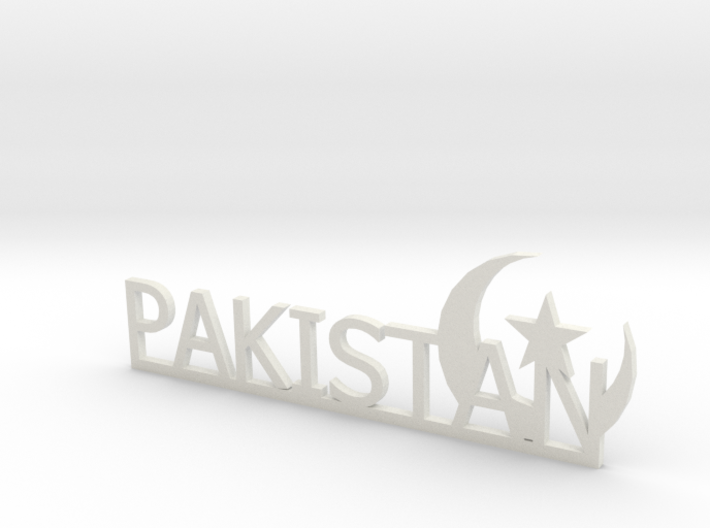 Pakistan Small 3d printed