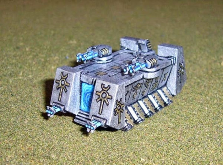 6mm DeathBot War-Barge 3d printed Picture courtesy of Markconz athttp://hordesofthings.blogspot.co.nz/