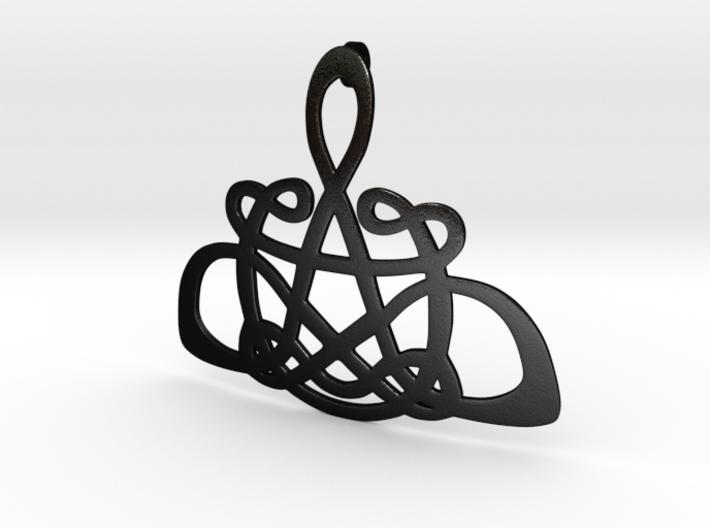 CelticKnot Pendant 3d printed