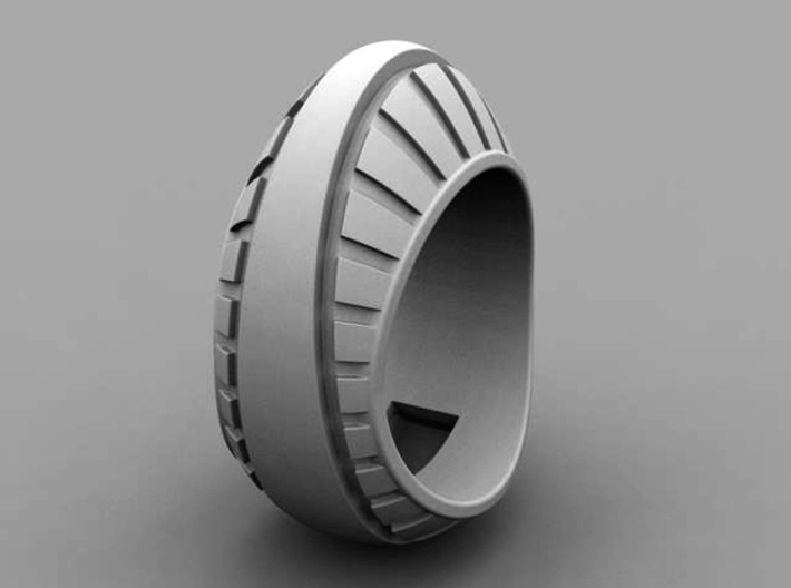 Egg Ring - Size 11 1/2 (21.08 mm) 3d printed
