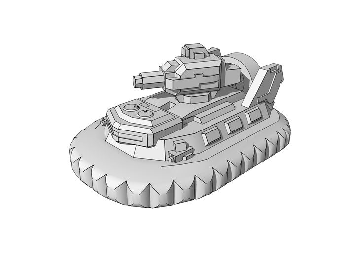 """Dagger"" Assault Hovercraft 6mm 3d printed"