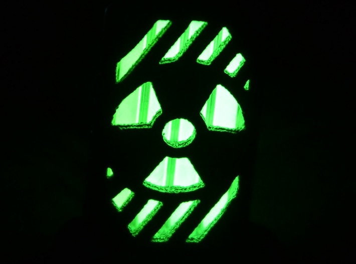 Radiation Lantern 1: Tritium (All Materials) 3d printed