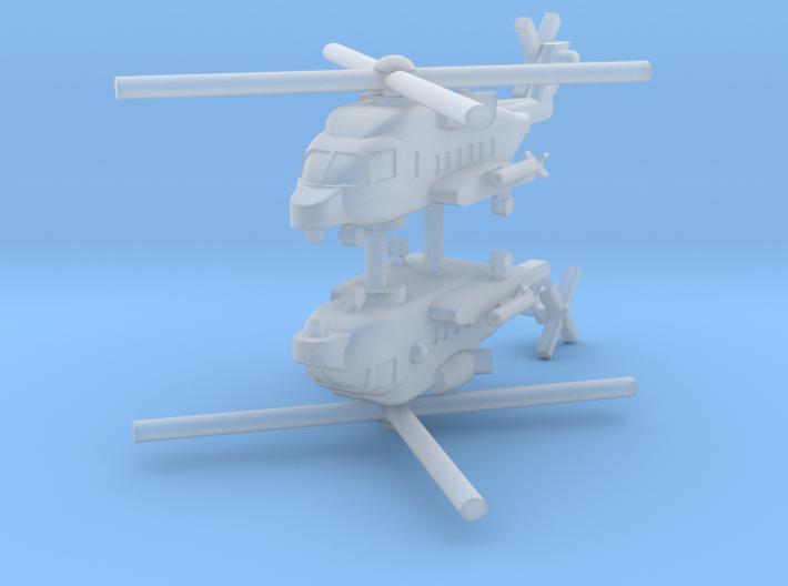 1/700 CH-148 Cyclone (x2) 3d printed